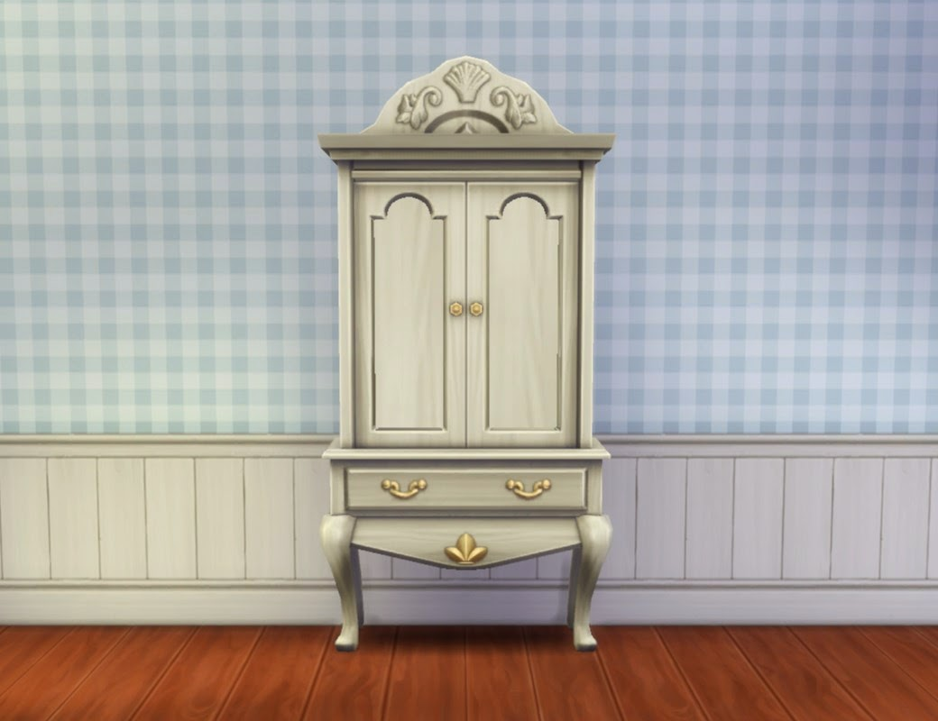 my sims 4 blog sea princess armoire by plasticbox. Black Bedroom Furniture Sets. Home Design Ideas