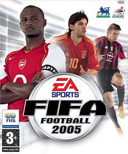 Fifa Football 2005 Game Cover