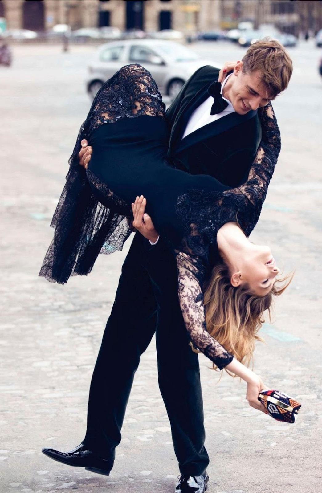 Karlina Caune in Vogue Paris September 2013 (photography: David Bellemere, styling: Capucine Safyurlu)