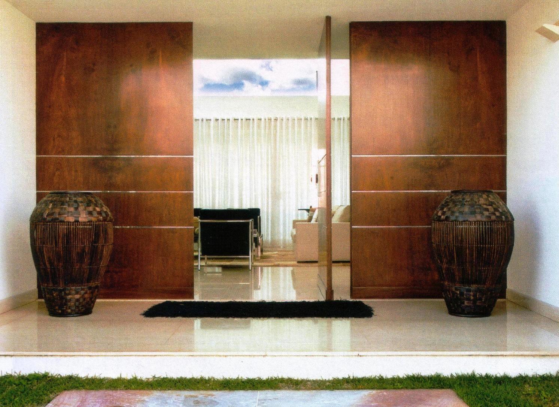 Portas de Entrada – Veja 15 modelos modernos e maravilhosos! Decor  #683918 1493x1089 Banheiro Com Duas Portas De Entrada