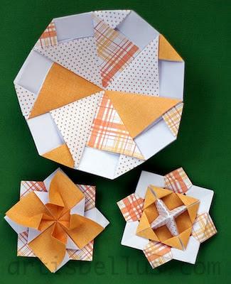 Fun Origami: Spinning Tops