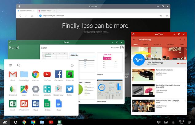 Remix OS lleva Android para PC al siguiente nivel