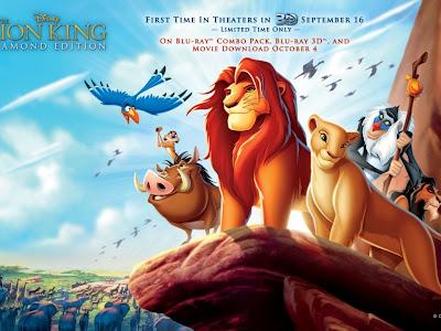 Crtani film Kralj lavova 3D download besplatne pozadine slike za desktop