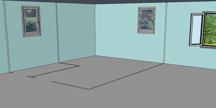 cloisons en placo pl tre ba13 comment faire. Black Bedroom Furniture Sets. Home Design Ideas