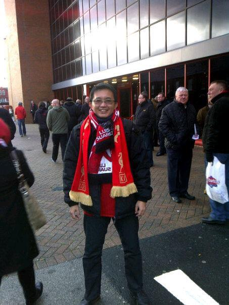Match Day in Anfield 10 Dec 2011