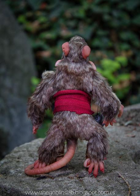 ooak fantasy handmade creature goblin fae elf