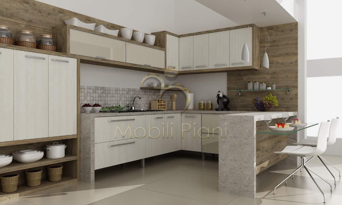 Armario Leroy Merlin Puertas Correderas ~ Cozinha planejada com armários Móveis planejados