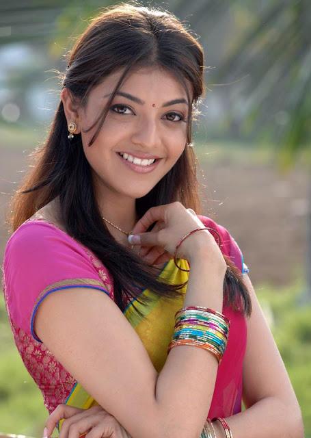 Kajal Aggarwal Beautiful Cute Face Wallpaper Collection