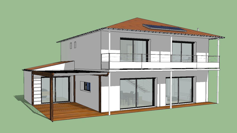 ma maison bioclimatique une maison bioclimatique c 39 est. Black Bedroom Furniture Sets. Home Design Ideas