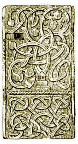 Saxon carvings at Kelston, North-East Somerset