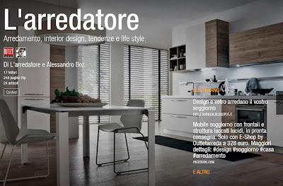 Nasce L'arredatore il nuovo magazine di mobili e design