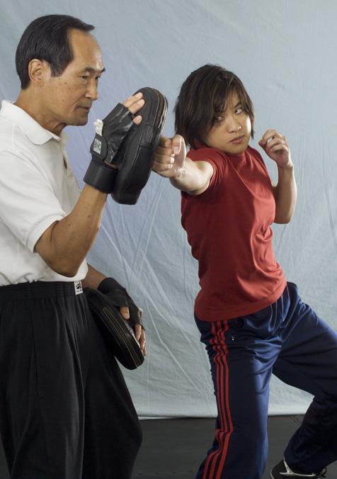 Ted Wong e Teri Tom