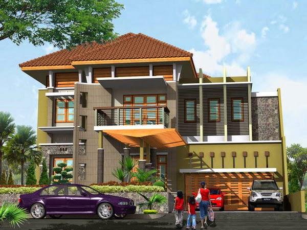 desain rumah modern paling istimewa