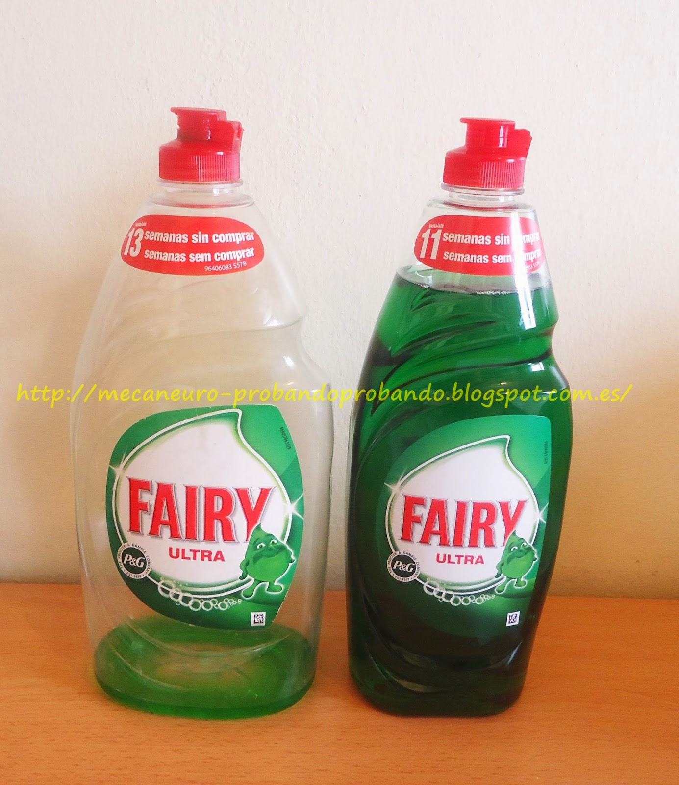 Remedio eficaz para la grasa: Fairy Ultra