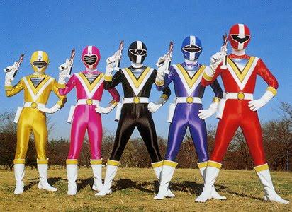 Chikyu Sentai Fiveman ABC-5 Tagalized Super Sentai Series 90's
