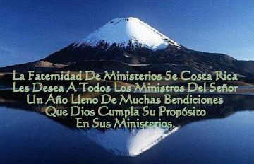 AVISO DE LA FRATERNIDAD DE MINISTERIOS DE COSTA RICA