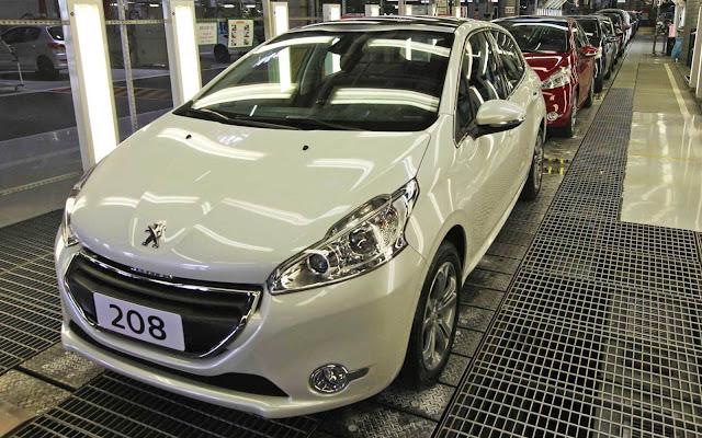 Linha Peugeot 2014 - tabela de preços