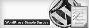 WordPress Simple Survey Plugin