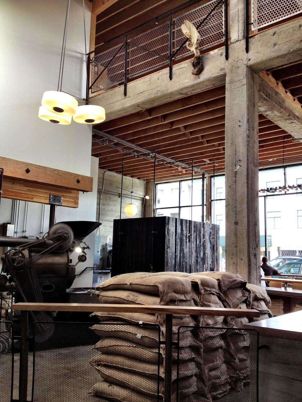 The Cabinet Shop: SIGHTGLASS COFFEE / SF