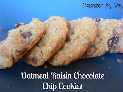 ... Crockpots! Come Check It Out!: Oatmeal Raisin Chocolate Chip Cookies
