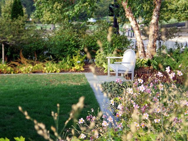 Botanischer Garten in Washinton D.C. Draußenanlage