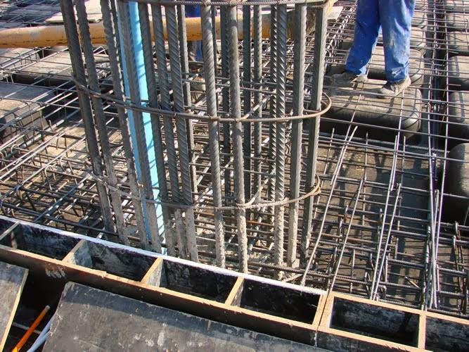 Como hacer una columna de concreto reforzado construya f cil for Como hacer una pileta de cemento