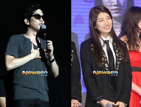 Suzy dan Lee Juk Host MBC College Music Festival