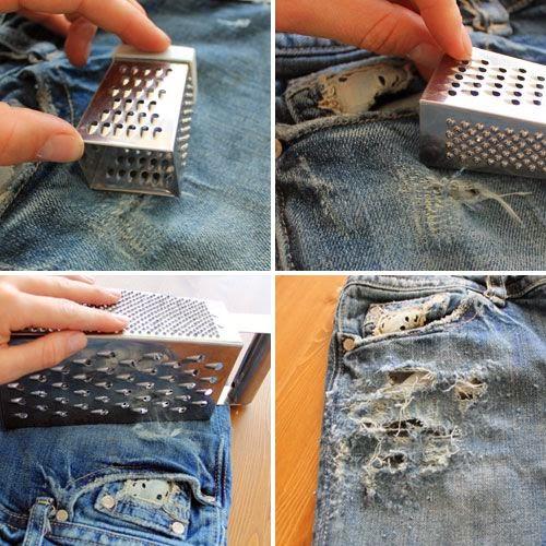 Рваные джинсы своими руками мастер класс фото новые идеи