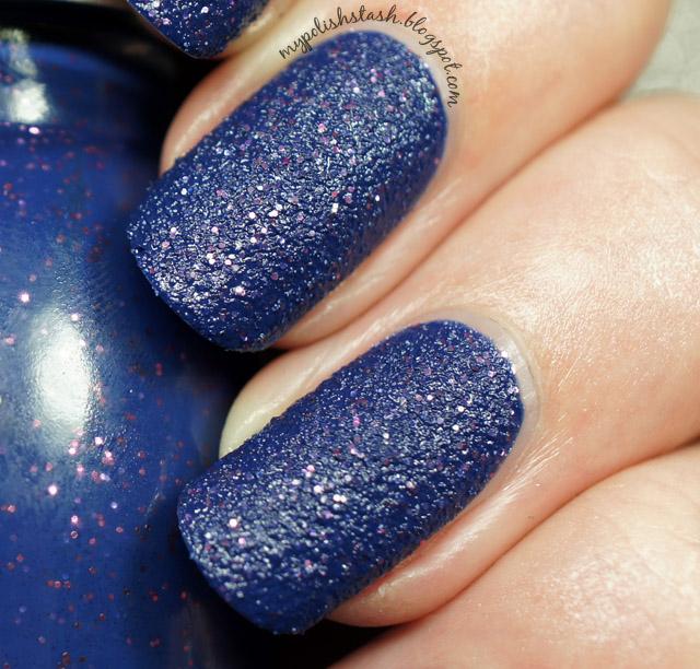blue textured nail polish cheap