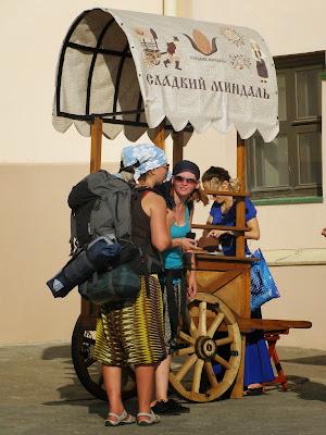 Туристы в Казанском кремле