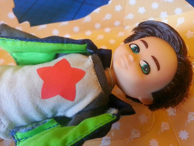 The Finn Doll For Boys from Arklu review close up of face