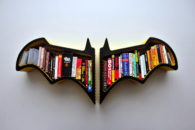 Rak Buku Minimalis Unik Model Batman