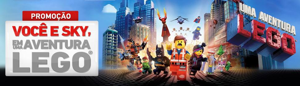 """Promoção SKY - """" Você e Sky em uma aventura Lego"""""""