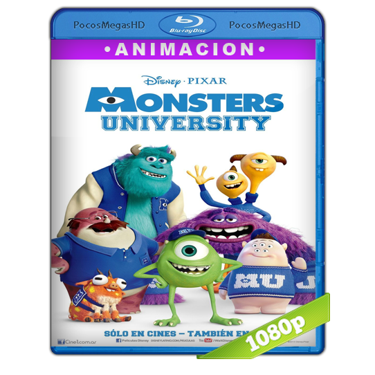 Monsters University (2013) Full HD BRRip 1080p Audio Dual Latino/Ingles 5.1 (peliculas hd )