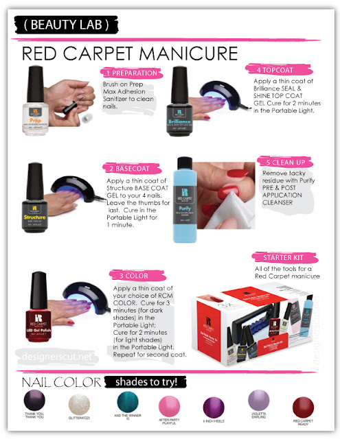 Red Carpet Manicure Pro Kit RCM Gel Nail UV LED How to