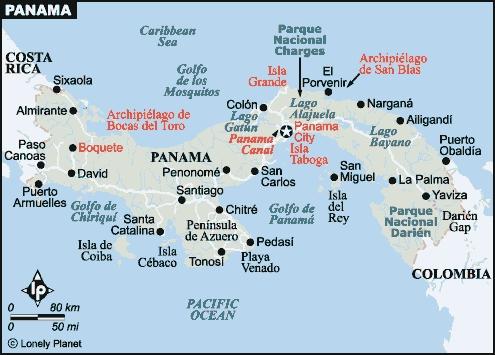 mapa ciudad de panamá