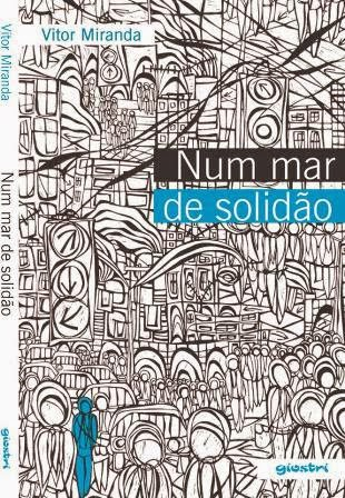 Capa do livro Num Mar de Solidão, de Vitor Miranda