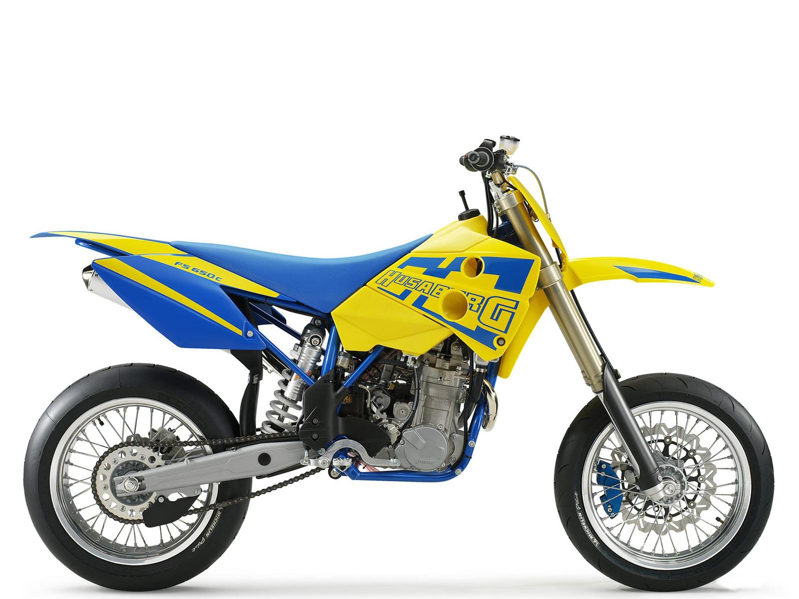 Model: Husaberg FS 650 e. Year: 2005. Category: Super motard