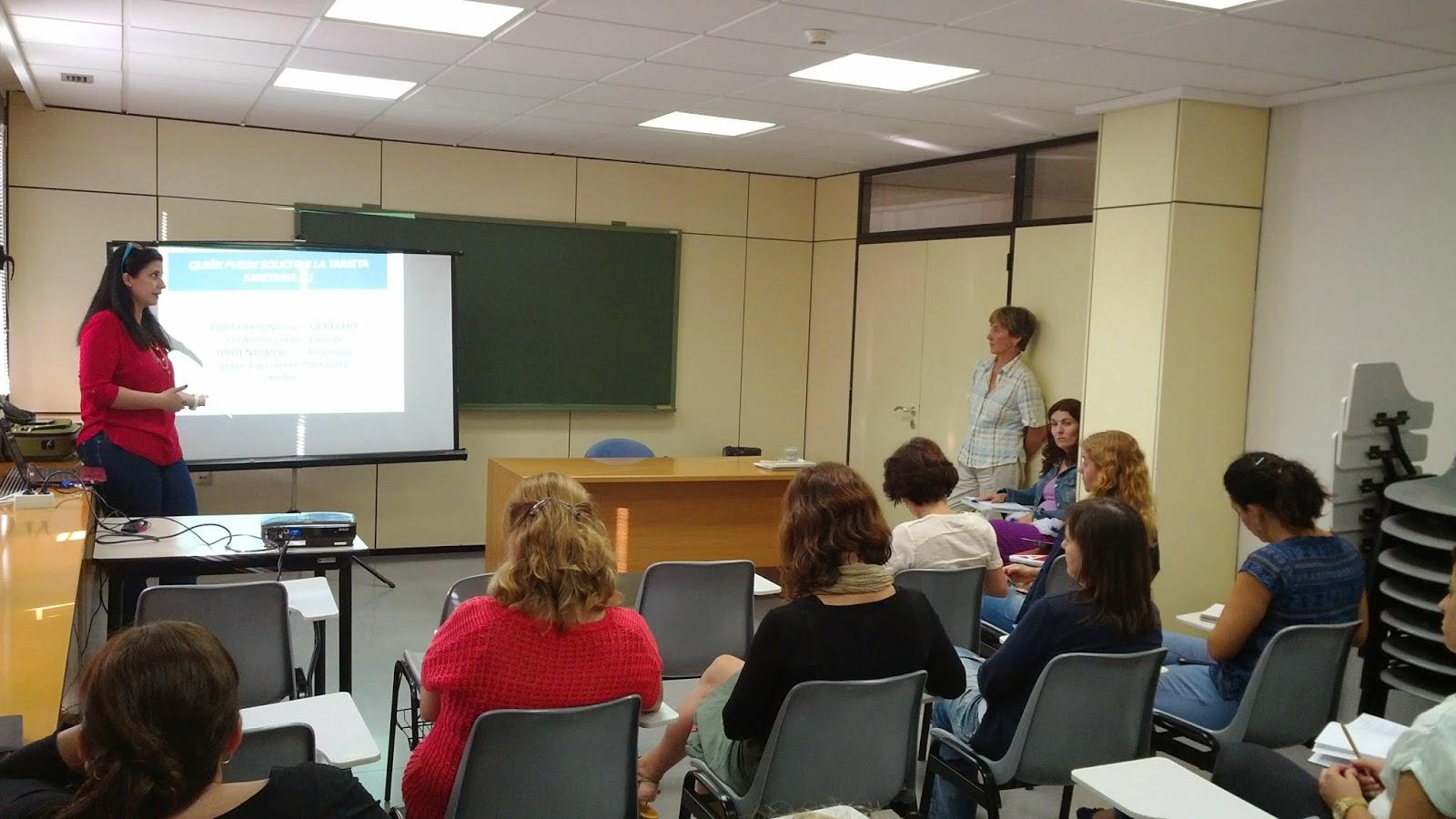 Médicos del Mundo Sede Alicante_ charla_ 21/10/2014