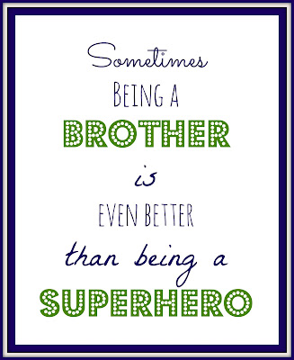 Brother Quote Printable
