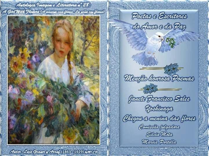 Antologia Imagem e Literatura nº 28: A Girl With Flowers