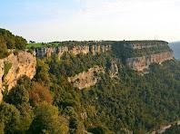 Els Cingles del Cerdà des del mirador de Can Tres Quarts. Autor: Carlos Albacete