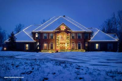 Decora la fachada de tu casa con luces estas navidades
