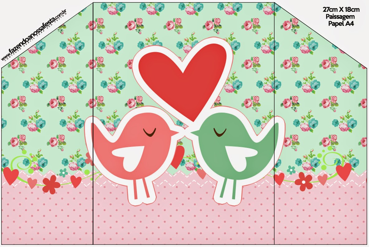 Birds in Love: Free Printable Invitations for Wedding. | Oh My ...