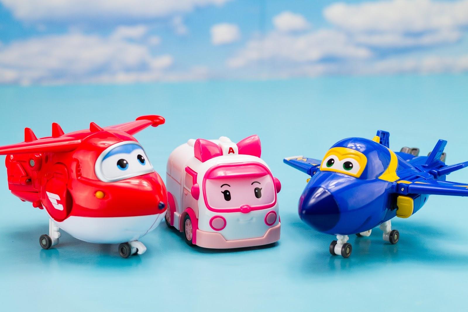 Super h ros et compagnie super wings robocar poli jouets - Dessin anime robocar poli ...