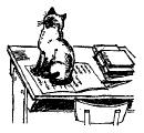Mr. Blue - Рассказ про кота в школе на английском языке.