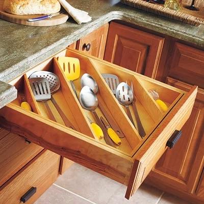 Divisorias gavetas cozinha