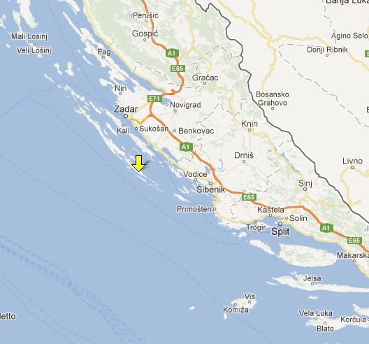 No Particular Place Cruisin to the Kornati Islands