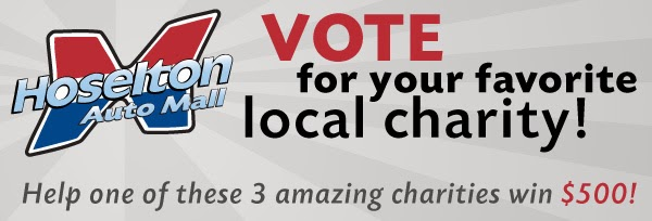 Hoselton Auto Mall Vote For Your Favorite Local Charity Today