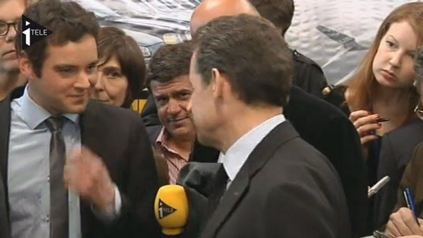 Nicolas Sarkozy Joven